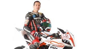 El piloto Aureli Martínez, fallecido ayer en un accidente en Montmeló.