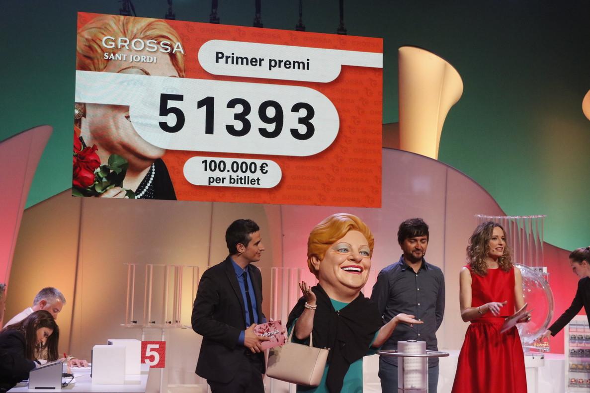 El primer premio de la Grossa de Sant Jordi 2017.