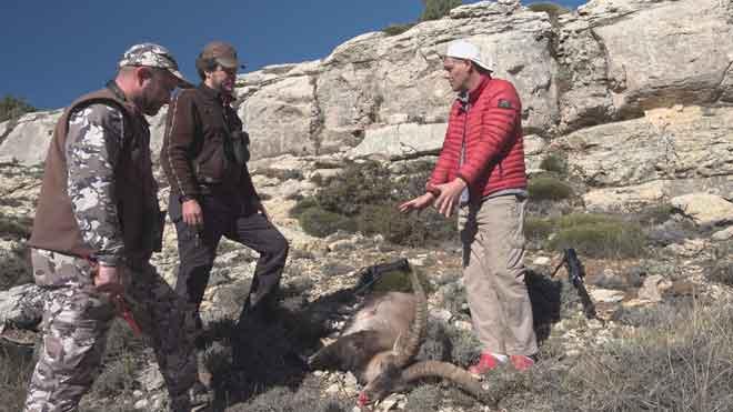 Promoción del programa 'Wild Frank: Caza' en DMAX.