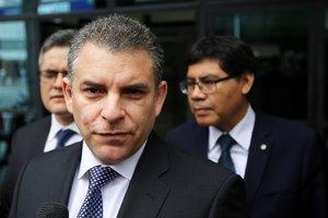 El jefe de la Fiscalía de Perú para el caso Lava Jato, Rafael Vela.