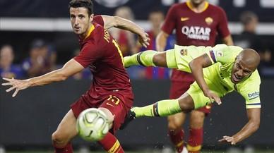 Segunda lección del Roma al Barça