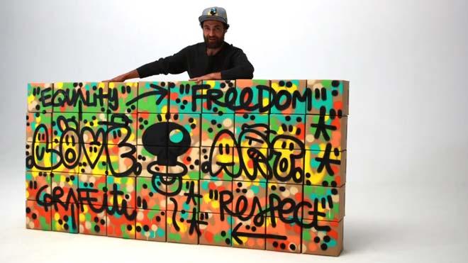 Reciclar con arte.