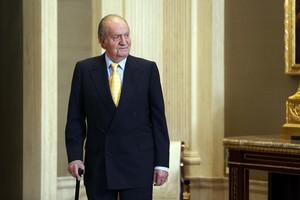 El rey Juan Carlos, en un acto en junio del 2014.