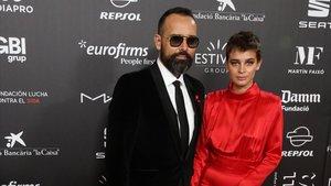 Risto Mejide y Laura Escanes, en la gala People in Red de la Fundación de la Lucha contra el Sida.