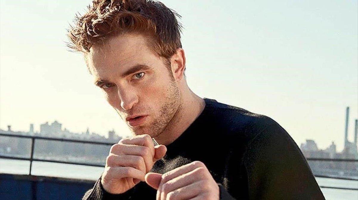 El actor Robert Pattinson.