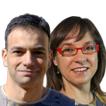 Roger Canadell y Teresa Iribarren