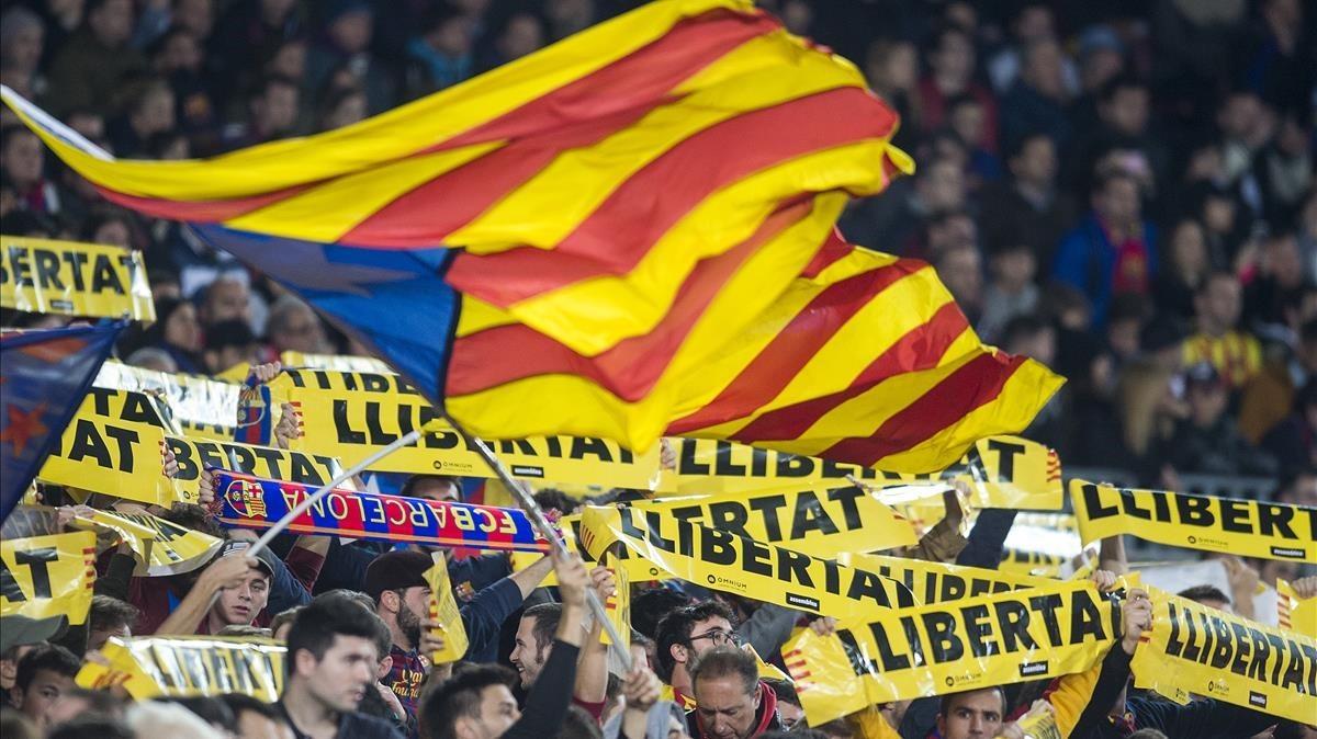 Entitats i penyes del Barça impulsen una iniciativa per tenyir de groc la final de Copa