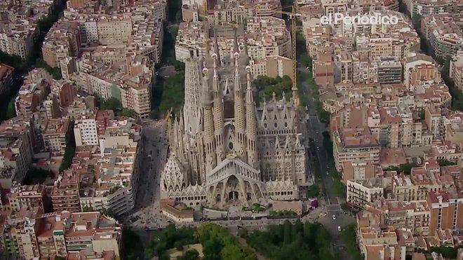 Vídeo promocional del documental de National Geographic Channel sobre la Sagrada Família.