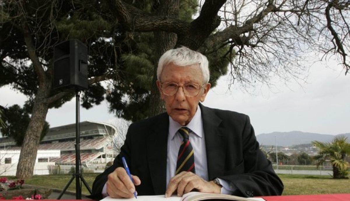 Mor als 86 anys Sebastià Salvadó, president del RACC durant 31 anys