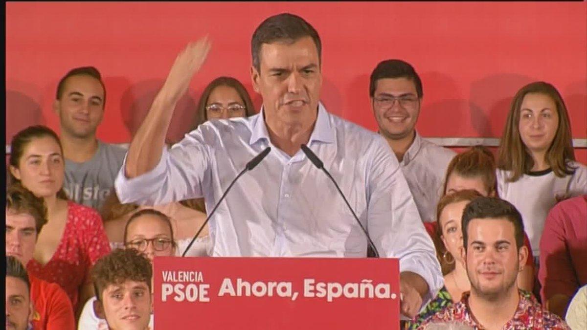 Sánchez pide al independentismo que reconozca su fracaso.