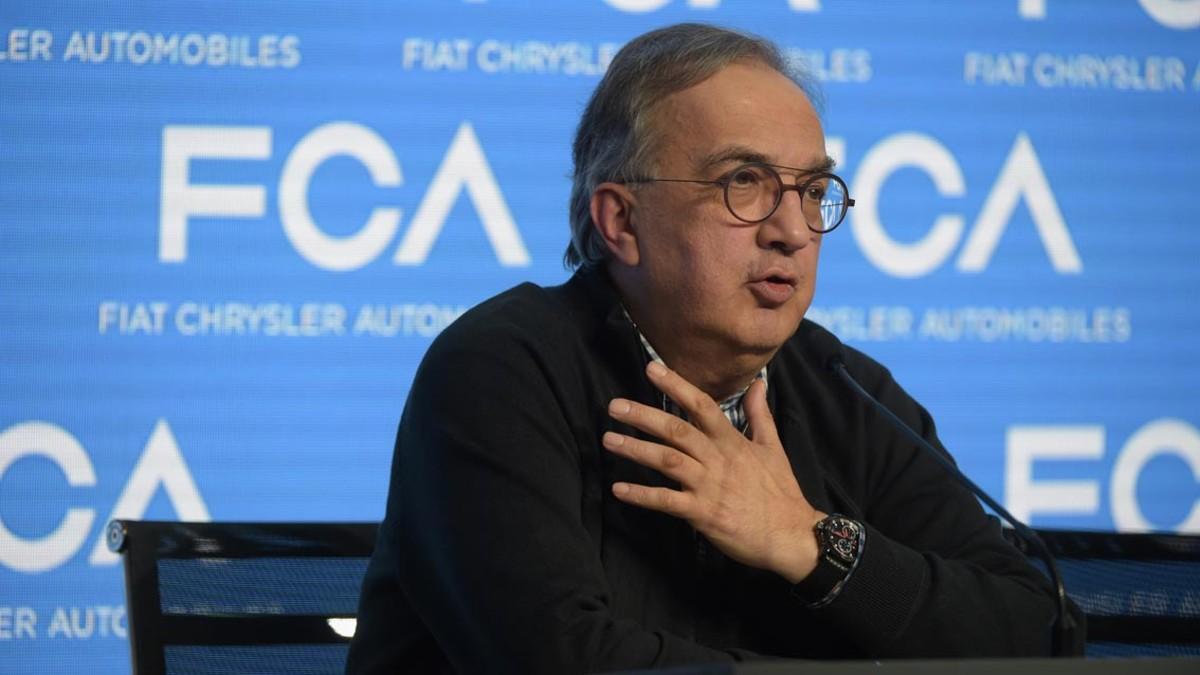 Sergio Marchionne el pasado 1 de junio antes de la operación.