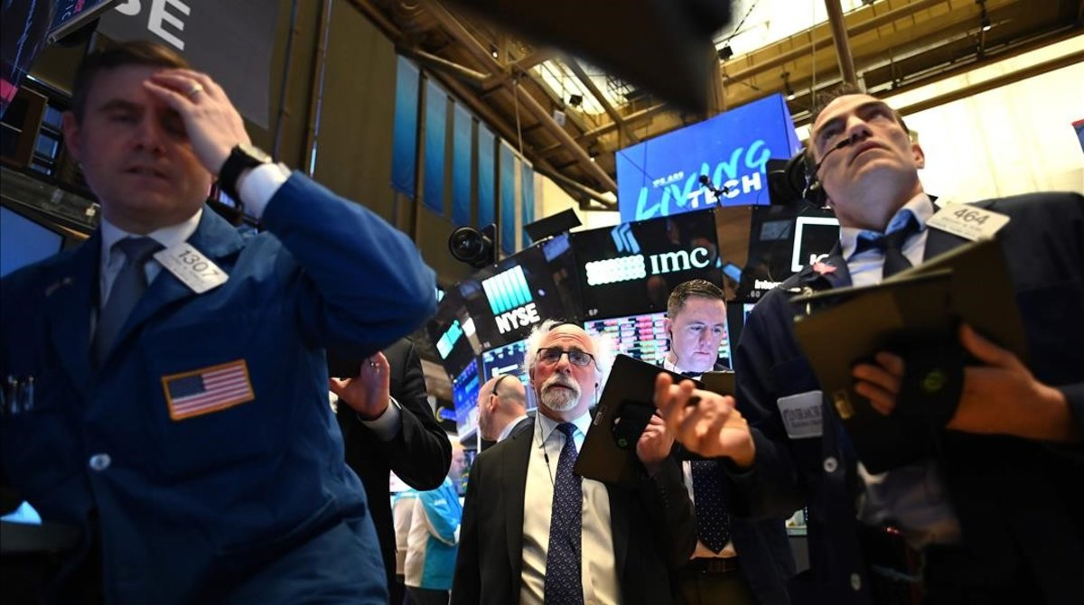 Sesión de apertura en Wall Street.