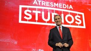 Silvio González, consejero delegado de Atresmedia, en la presentación del proyecto.