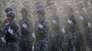 Los militares jubilados en China siguen dando guerra