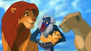 Imagen de la película de Disney El rey León.