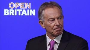 Tony Blair, en su discurso en Londres.