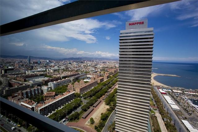 Torre Mapfre de Barcelona.