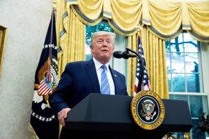 Donald Trump, el presidente de los Estados Unidos. EFE