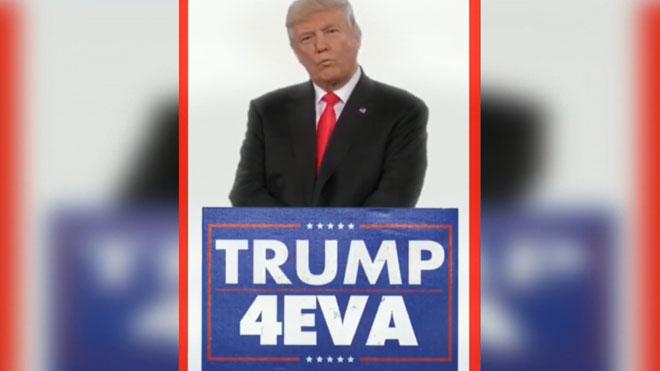 Trump, exultant a Twitter: afirma que es quedarà a la Casa Blanca «per sempre»