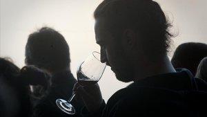 Una cata de vinos como las que se podrán hacer durante los días del Barcelona Wine Week.