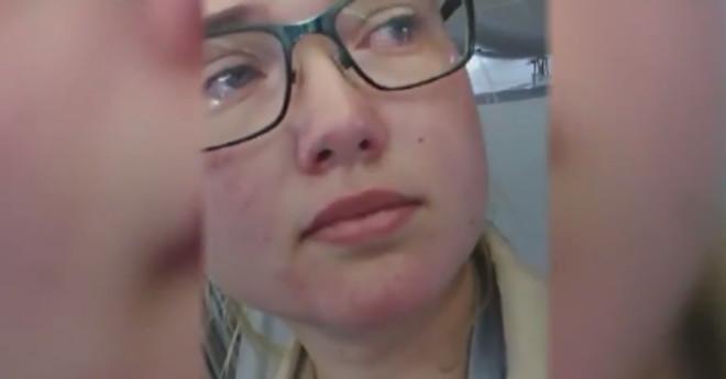 Una joven estudiante sueca frena la deportación de un afgano, mediante un Facebook Live, al impedir que despegara el avión.