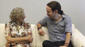 Iglesias i Carmena xoquen en la seva anàlisi sobre la bombolla del lloguer