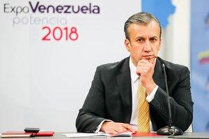 El vicepresidente económico de Venezuela,Tarek El Aisammi.