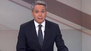 """Vicente Vallés, sobre sus críticas al Gobierno: """"Por suerte ya me han puesto todo tipo de etiquetas"""""""