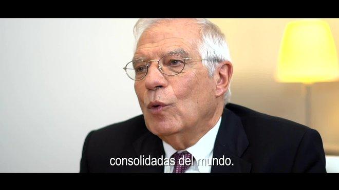 Vídeo del gobierno para defender la democracia antes de salir la sentencia.