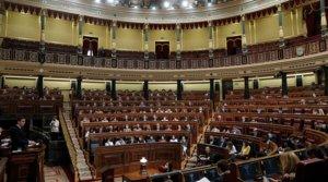 Vista general del Congreso, durante la intervención de Pedro Sánchez, el pasado 29 de julio.