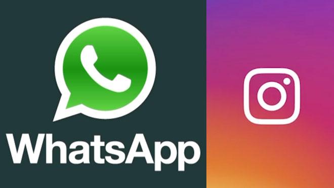 WhatsApp e Instagram registran problemas de conexión.
