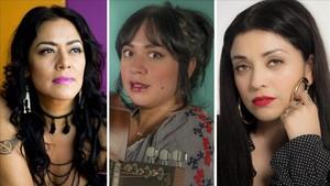 Lila Downs, Carla Morrison y Mon Laferte.
