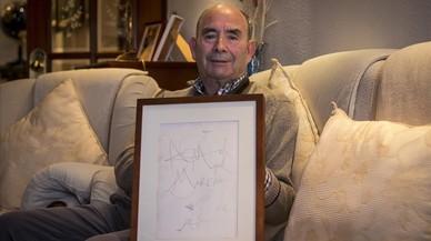 Miguel Moreno: «Dalí me hizo un dibujo porque lo traté como a uno más»