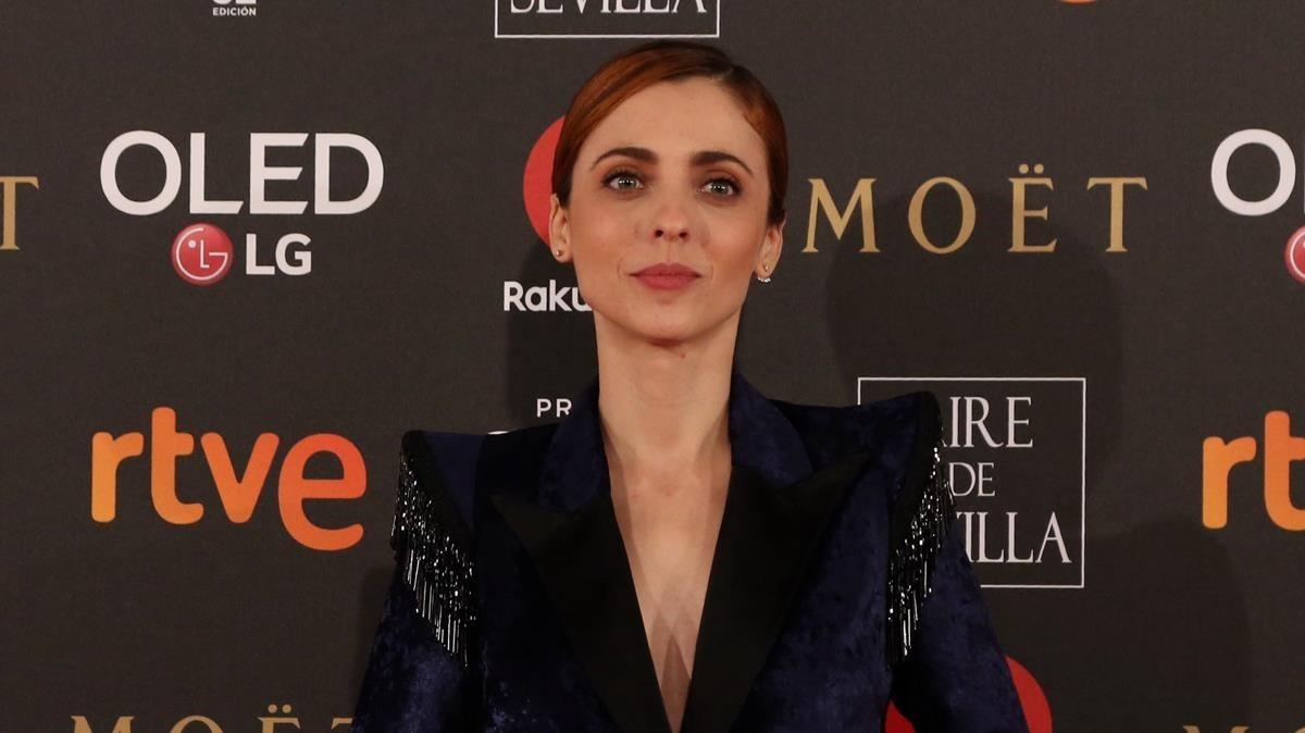Leticia Dolera, en la gala de los premios Goya, el pasado mes de febrero.
