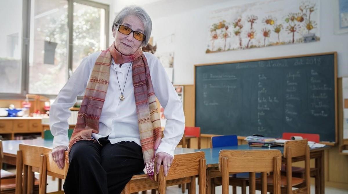 """Montserrat Ballús: """"Ni libros de texto ni deberes, ¡Lego!"""""""