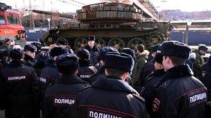 El Kremlin exhibeix 'trofeus' de la guerra de Síria en un tren que recorre el país