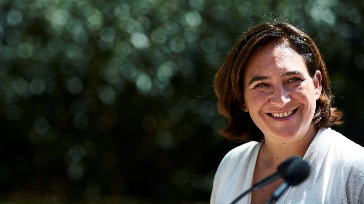 Ada Colau, alcaldessa de Barcelona d'En Comú Podem, respondrà als lectors en un debat de Primera Plan@