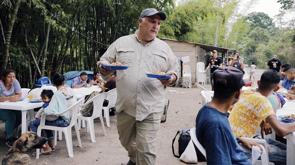 José Andrés: «Porto una vida de privilegiat, però he arribat a l'extrem de l'abisme»: