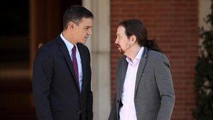 Sánchez i Iglesias es van reunir dijous a la Moncloa