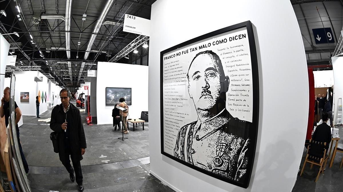 La directora d'Arco surt en defensa del polèmic quadro de Franco
