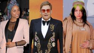 Elton John organitza un concert benèfic juntament amb Billie Eilish i Alicia Keys, entre altres artistes