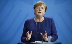 Merkel descarta els 'coronabons' perquè no caben als tractats de la UE