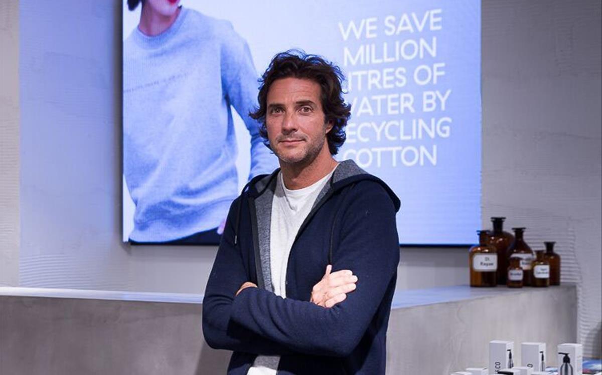Javier Goyeneche, director de la firma textil Ecoalf.