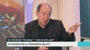 Vicent Sanchis en 'Els matins' (TV-3).