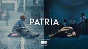 El cartel de la serie 'Patria' de HBO.