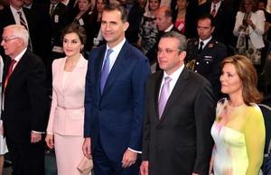 Els Reis inauguren a Puerto Rico el congrés internacional de la llengua espanyola
