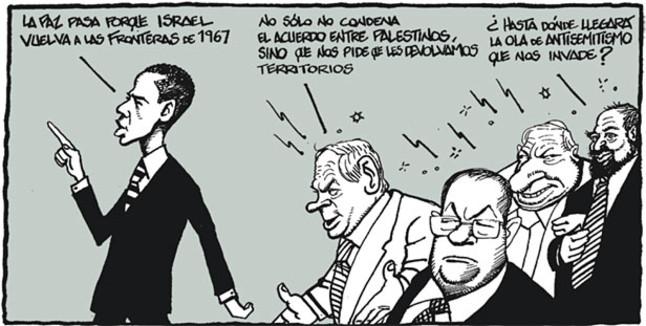 Viñeta de Ferreres en El Periódico (23.05.2011)