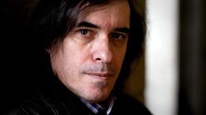 Mircea Cartarescu, durant una visita a Madrid el febrer del 2013