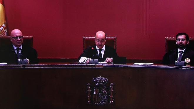 Lectura de la sentencia del juicio del 9-N