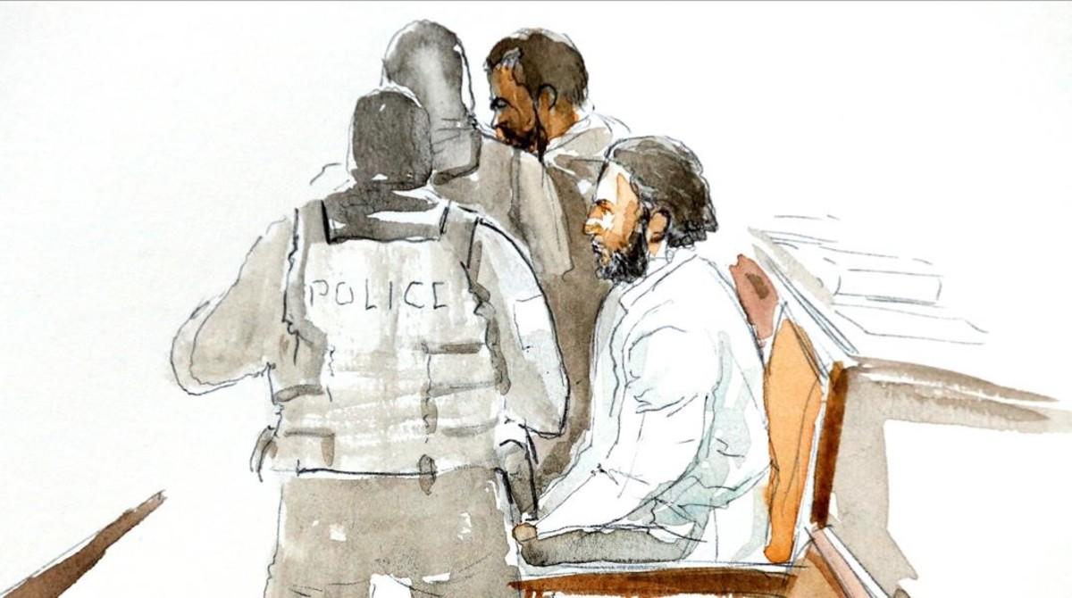 zentauroepp41917921 a court artist drawing shows salah abdeslam one of the susp180205103240
